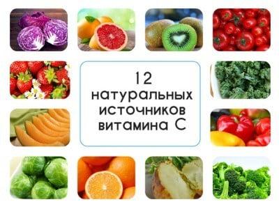 Антиоксиданты. Витамин A. Где содержится, продукты