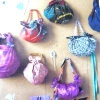 Летние сумочки-узелки из платков или лоскута