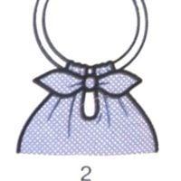 летняя сумка из узелков, шаг 2.