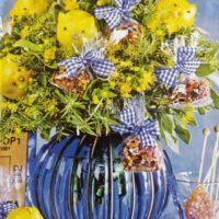 Новый год, хрюшки из лимонов